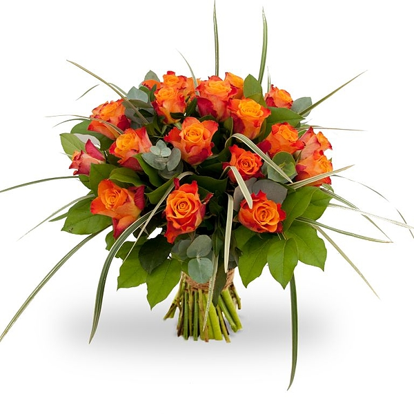 Bouquet Rosa Orange grand