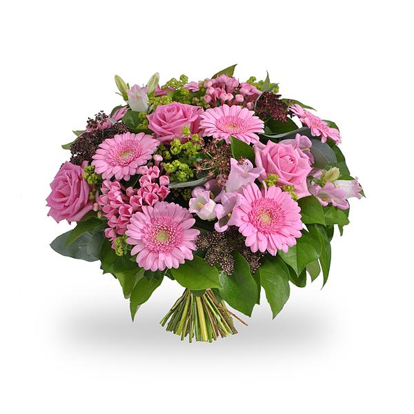 Bouquet naissance fille grand