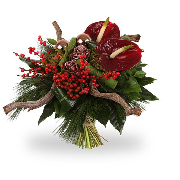 Bouquet Père Noël grand