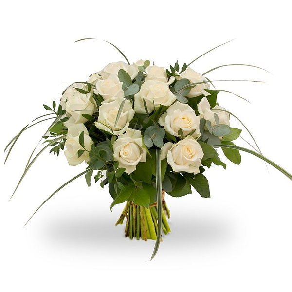 Bouquet Rosa White grand