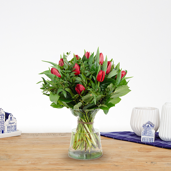 Bouquet Thara red small
