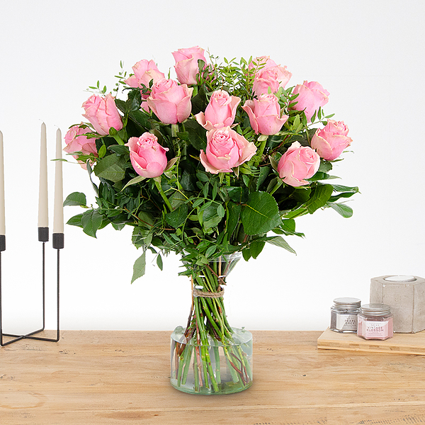 Bouquet Romy rose Moyen