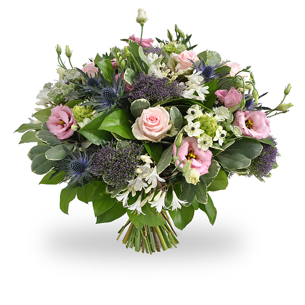 Pink Purple White Bouquet grande