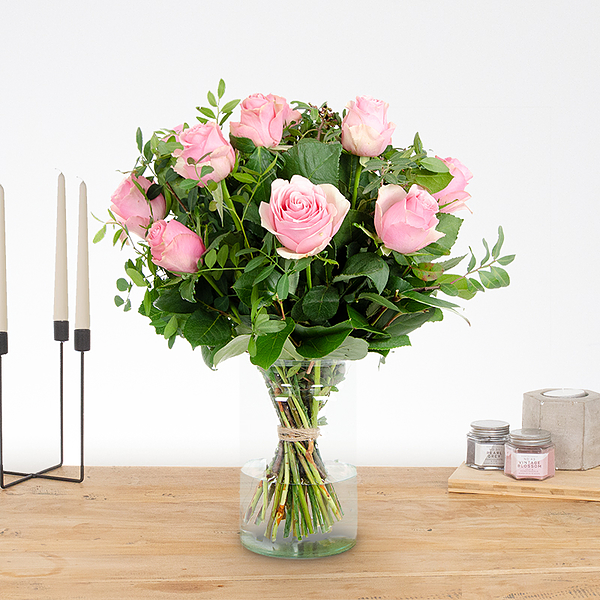 Boeket Romy roze Klein