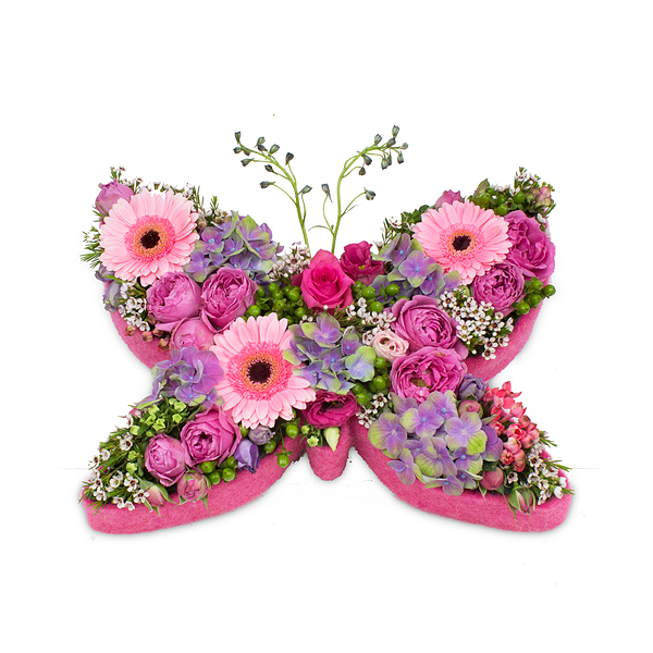 Pink Butterfly (40 cm)