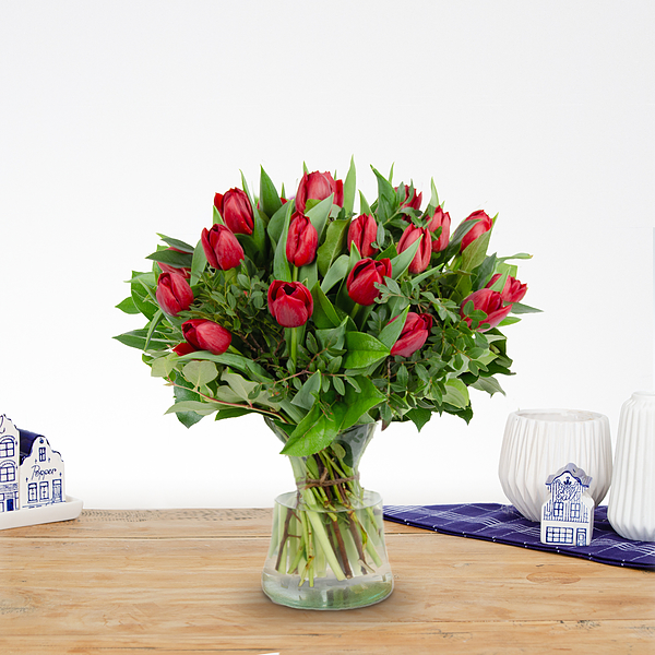 Bouquet Thara red large