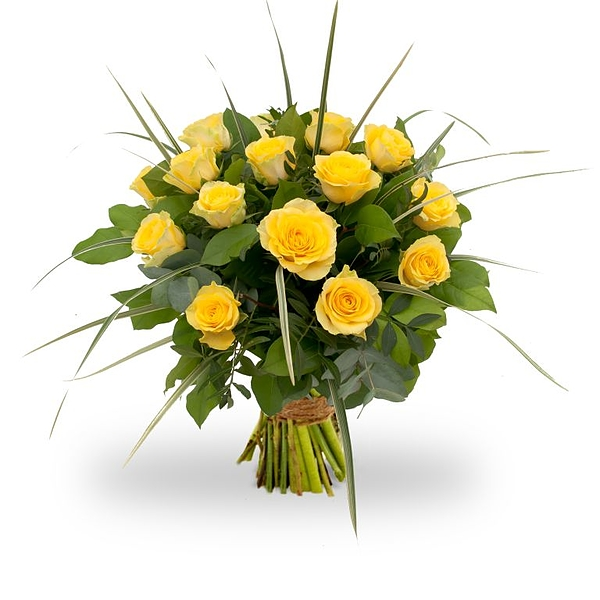Bouquet Rosa Yellow grand