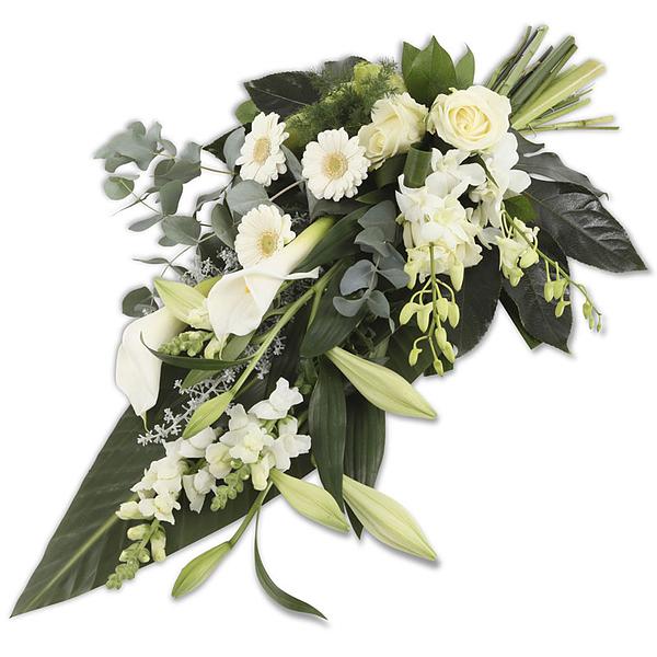 White Elegance Bouquet (50cm)