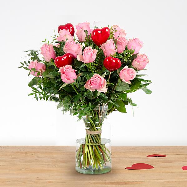 Bouquet Romy pink medium
